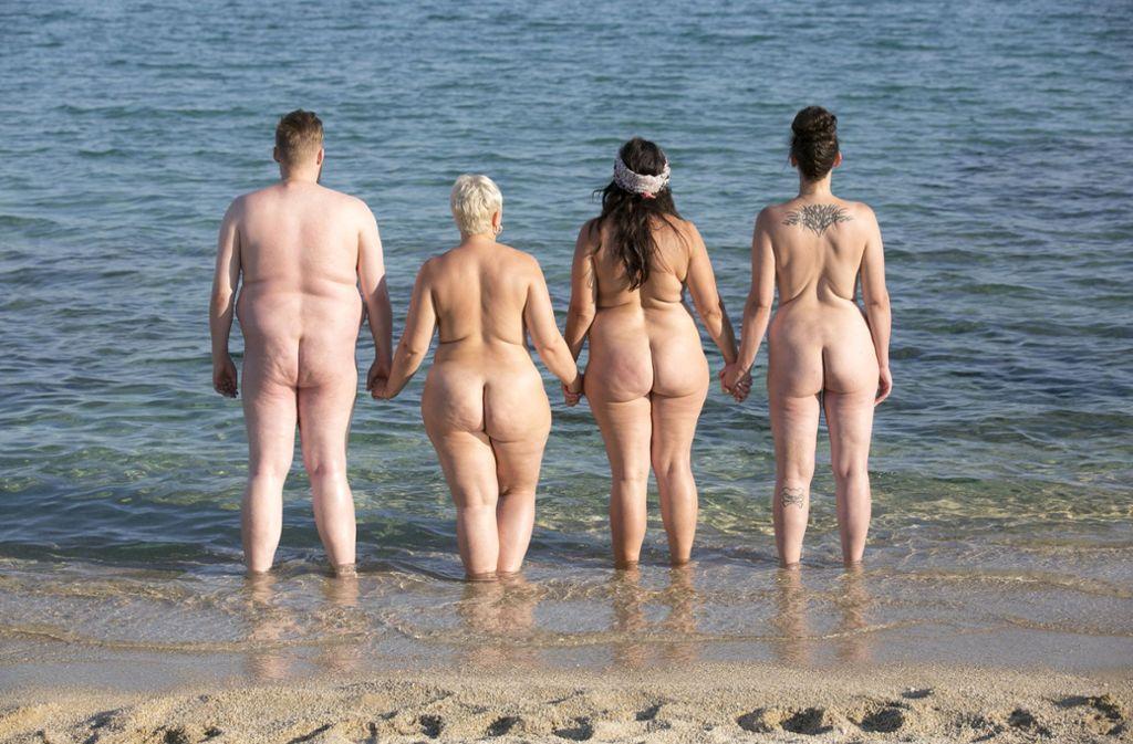 """Sat.1 hat ab 13. Januar """"No Body is perfect – Das Nacktexperiment"""" im Programm. Foto: dpa/SAT.1"""