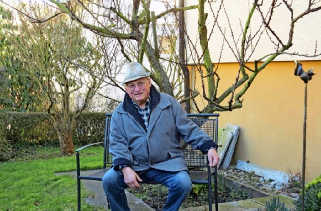 Erwin Benk will sein landwirtschaftliches Wissen an andere weitergeben. Foto: Caroline  Leibfritz