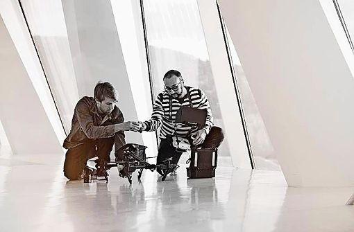 Drohnenfilm über Daimler-Museum