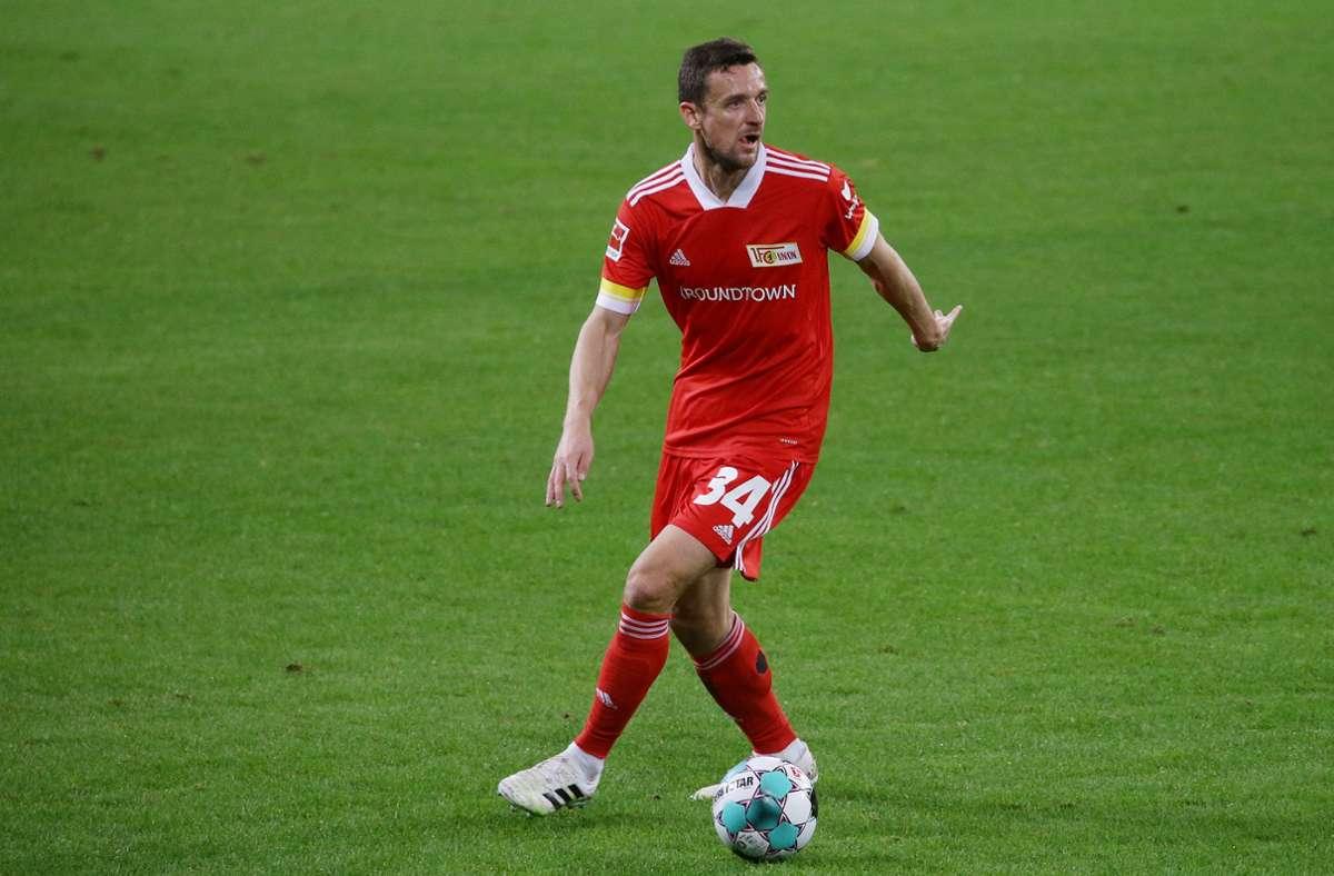 Christian Gentner trifft mit Union Berlin an diesem Samstag auf den FC Bayern Foto: Baumann