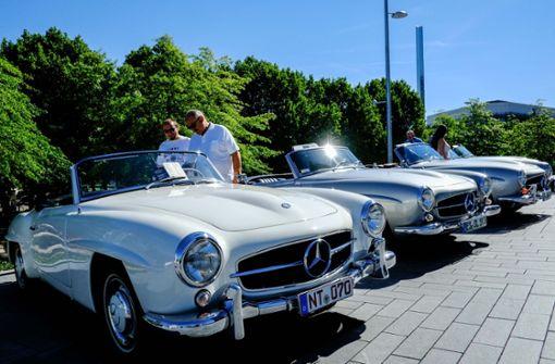 """Autofans zeigen bei """"Cars and Coffee"""" ihre Schätze"""