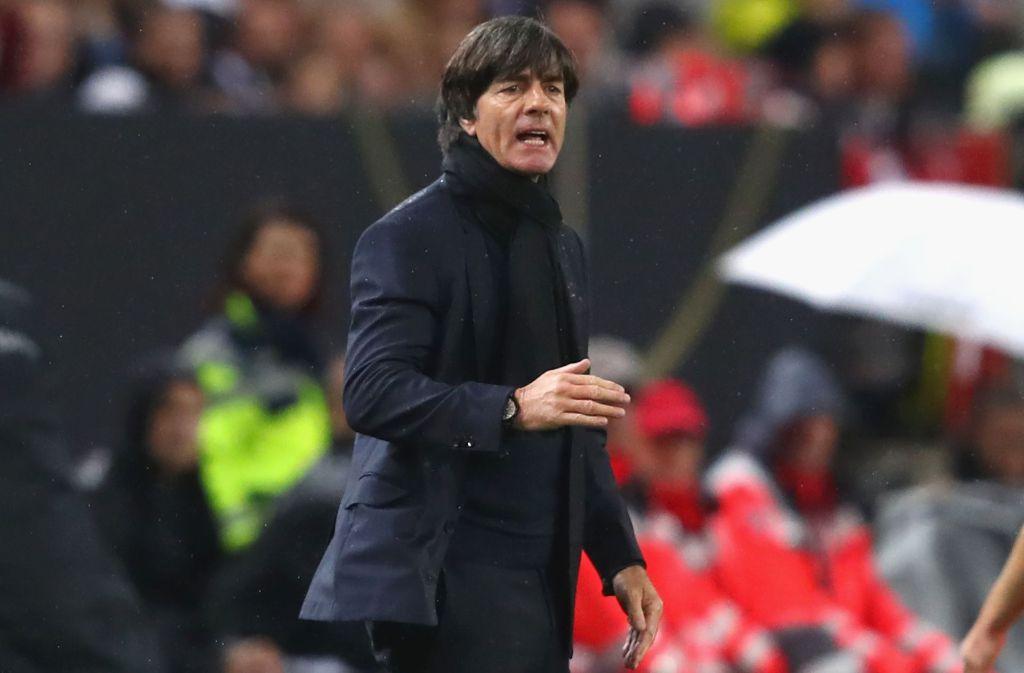 Joachim Löw ist stolz auf seiner Nationalelf, aber warnte auch vor anderen Gegnern bei der WM. Foto: Getty Images