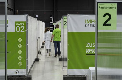 Kurzfristige Impfstoff-Lieferung für Kreis Ludwigsburg