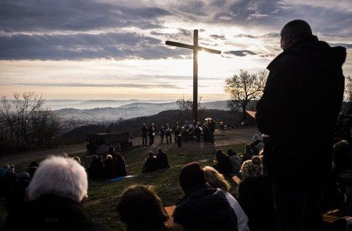 Posaunenchor und Vogelgezwitscher beim Ostergottesdienst