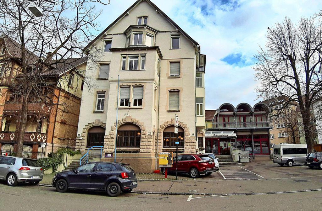Die aus dem Jahr 1905 stammende Sängerhalle samt dem aus den 1990er-Jahren stammenden Anbau. Foto: Elke Hauptmann