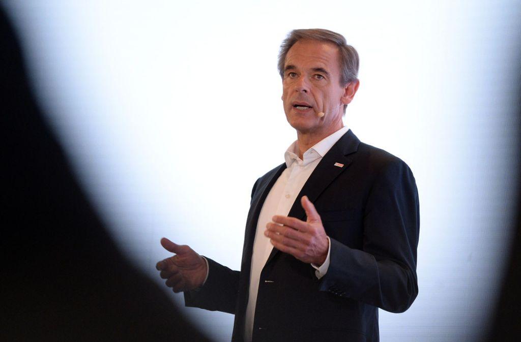Bosch-Chef Volkmar Denner meinst es ernst mit dem CO2-Ziel. Foto: dpa