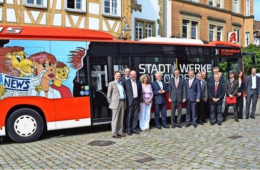 Das Busnetz ist in Händen der Stadt
