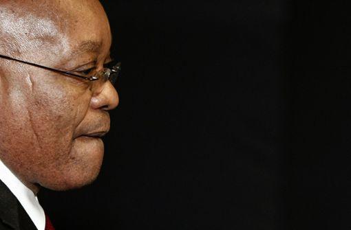 Regierungspartei bestätigt Abberufung von Präsident Jacob Zuma