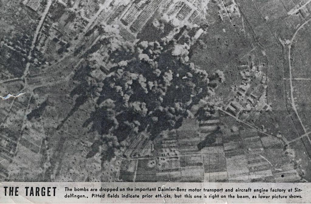Das Werk lag unter einem Bombenteppich. Foto: Stadtarchiv Sindelfingen