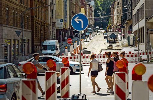 Schlechte Straßen – viele Baustellen