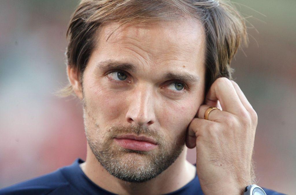 Eigenwilliger Fußballtrainer: Thomas Tuchel. Seinen Werdegang können Sie in unserer Bildergalerie nachverfolgen. Foto: Baumann