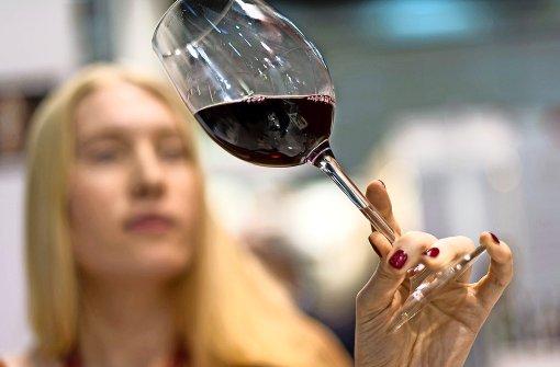 Weinlaube mit Zugangskontrolle