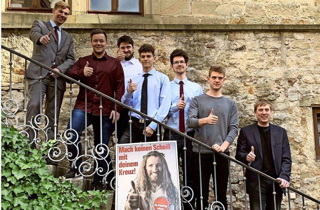 Lassen sich für die Wahl in den Hemminger Gemeinderat aufstellen (von links): Markus Walker, Andre Runge, Moritz Jestrych, Roman Krause, Hendrik Krause, Patrick Schmidt und Tobias Schmidt Foto: privat