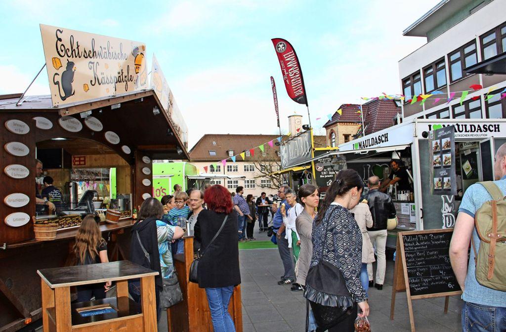Street Food Markt Stuttgart
