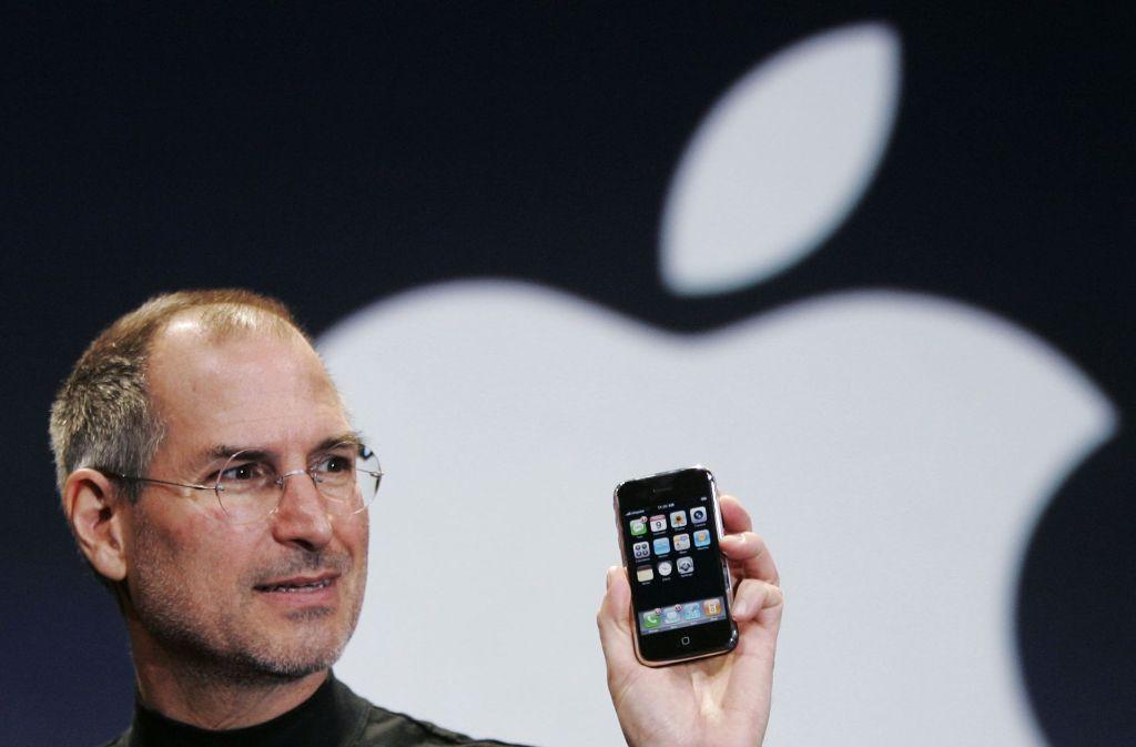 Der Amerikaner Steve Jobs war Mitbegründer und langjähriger CEO von Apple. Er starb im Oktober 2011 an einer Krebserkrankung. Foto: dpa