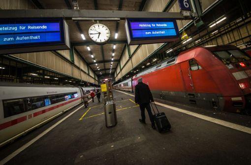 ICEs fahren wieder in Stuttgart