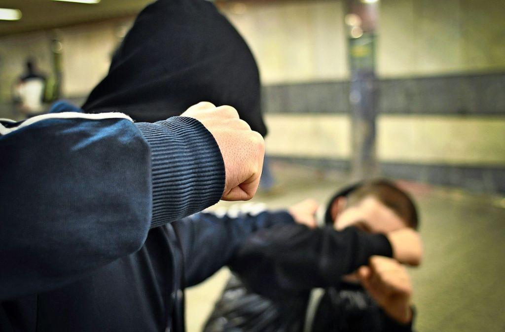 Während die Zahl der  Gewaltdelikte im Kreis Esslingen im Jahr 2019 insgesamt zurückgegangen ist, haben körperliche Übergriffe auf Polizisten  zugenommen. Foto: Phillip Weingand/Archiv