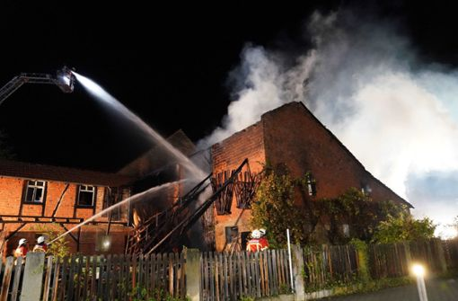 Brand zerstört Scheune – 120.000 Euro Schaden