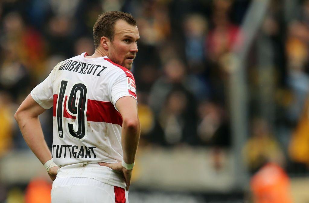 Kevin Großkreutz und der VfB Stuttgart gehen fortan getrennte Wege. Foto: dpa