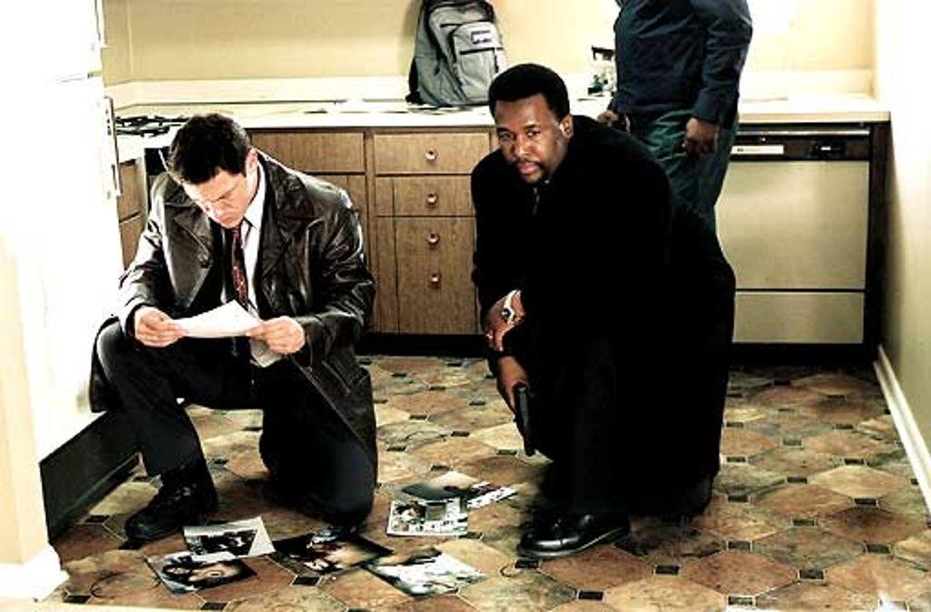 Cops (Dominic West, Wendell Pierce, v. li.) mit kontroversen Dienstauffassungen Foto: HBO