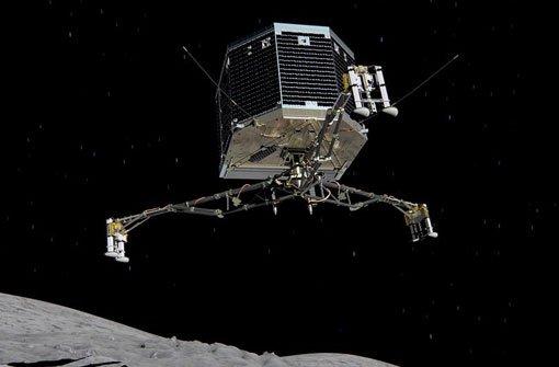 Raumsonde schickt erste Bilder