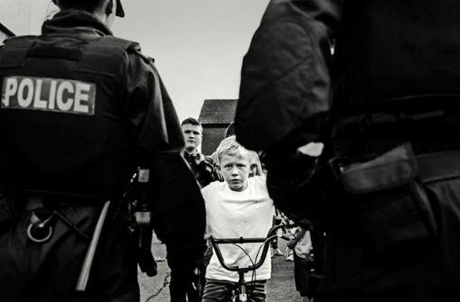 Brexit-Opfer in Schwarz-Weiß