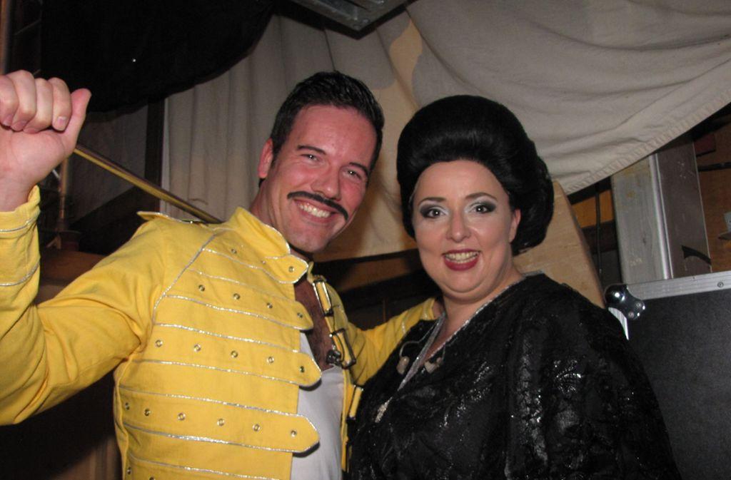 Mercury und Caballé. Oder nicht? Foto: ede