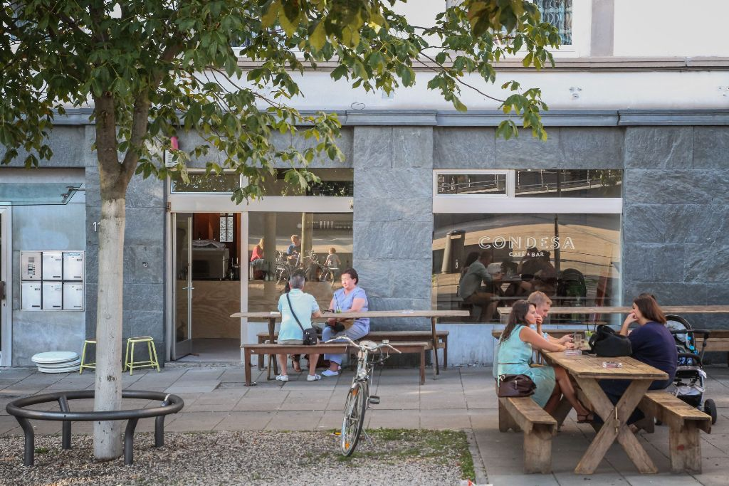 Stuttgart Cafe Marienplatz