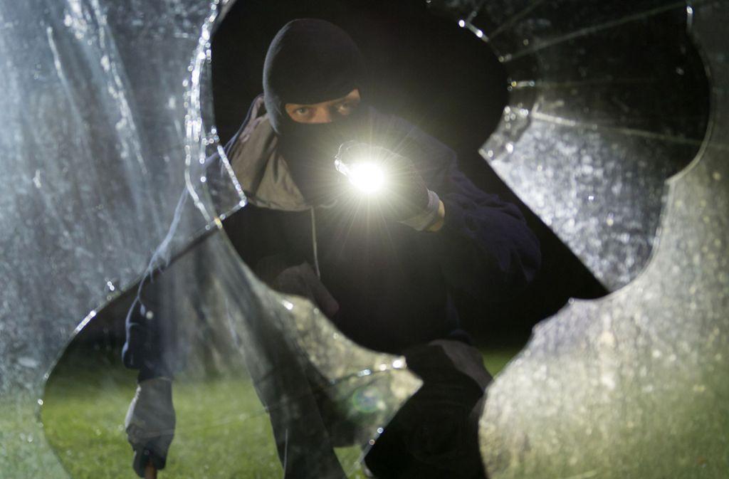 Mit brachialer Gewalt gingen die Einbrecher in Köngen vor. Foto: dpa/Daniel Maurer