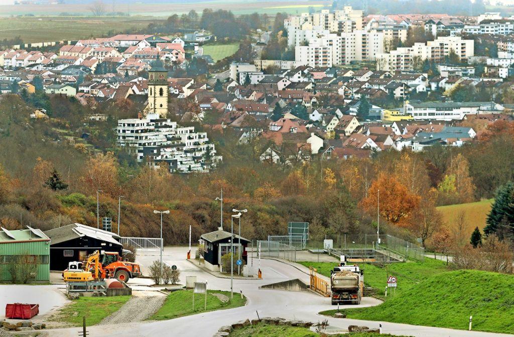 Die Deponie Am Froschgraben wird von der AVL betrieben. Foto: factum/Archiv