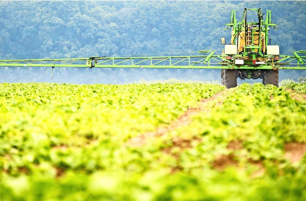 Der Einsatz von Glyphosat  in der Landwirtschaft ist umstritten: Umweltschützer fordern schon lange ein Verbot, die Weltgesundheitsorganisation (WHO) hält den Wirkstoff für wahrscheinlich krebserregend. Foto: dpa