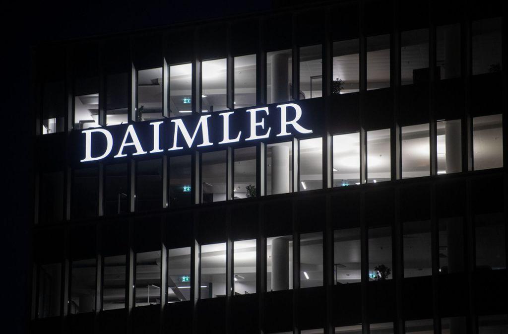 Die Verkaufszahlen bei Daimler sind massiv zurückgegangen. Foto: picture alliance/dpa/Marijan Murat