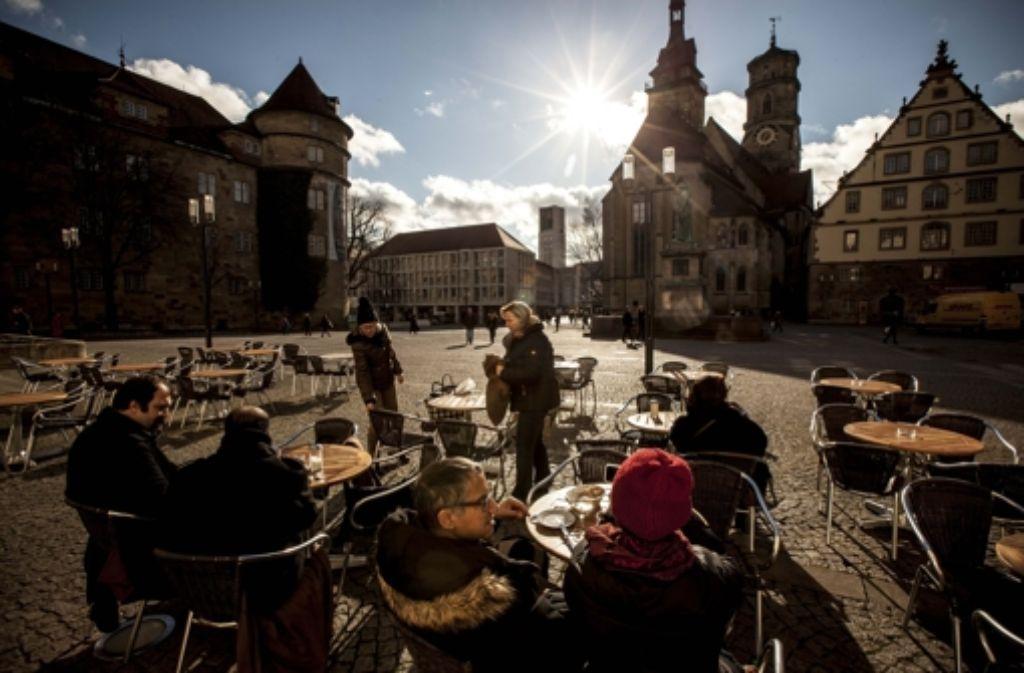 In Stuttgart lässt sich's leben – laut Studie fast so gut wie in Wien. Foto: Lichtgut/Leif Piechowski