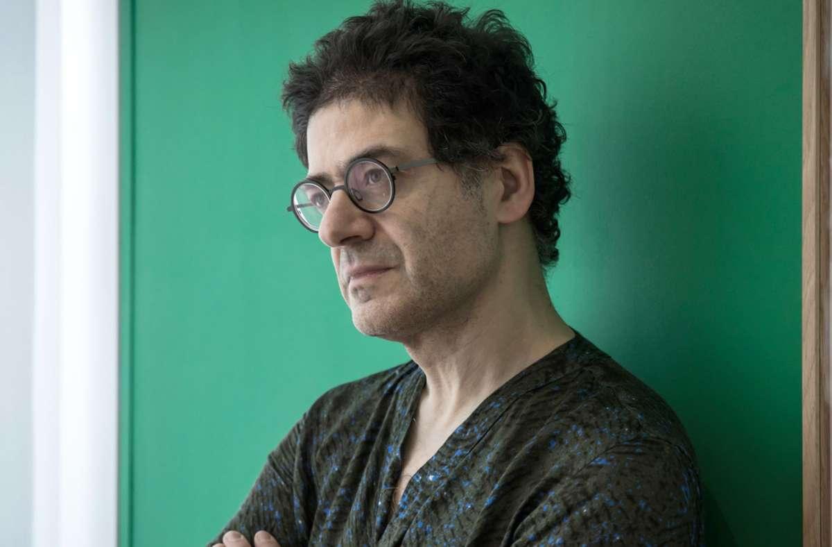 """Der erste Träger des neuen """"Europäischen Dramatikerpreises"""": Wajdi Mouawad Foto: dpa"""