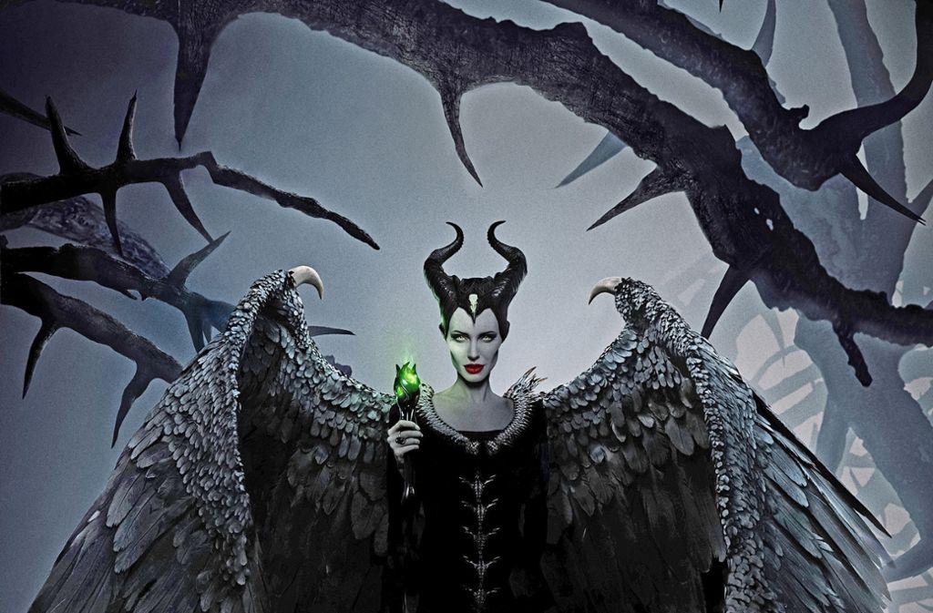 "Szenenbild aus ""Maleficent 2"": Angelina Jolie Foto: Walt Disney"