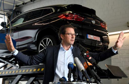 Druck auf Verkehrsminister Scheuer steigt