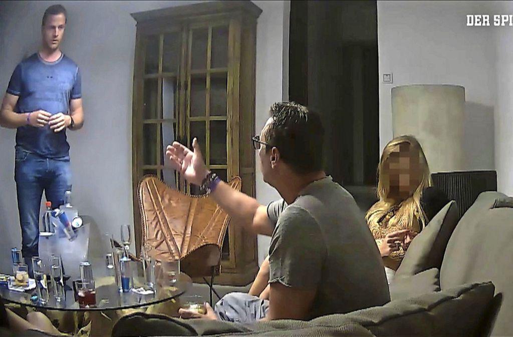 Das Ibiza-Video sorgt für eine Regierungskrise in Österreich. Foto: AFP