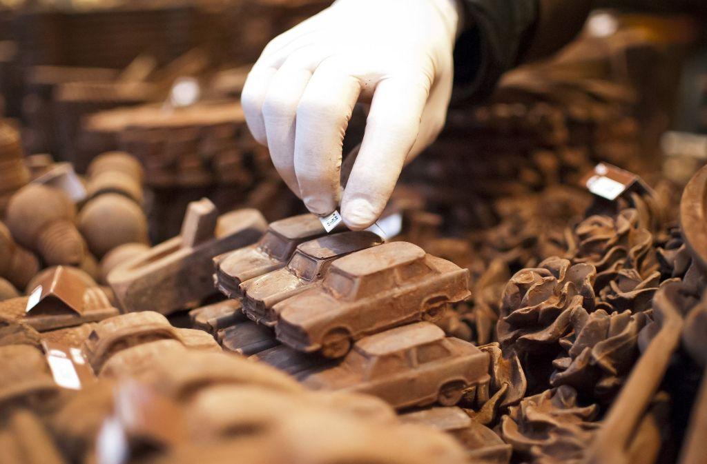Schokolade aus deutscher Produktion ist sehr beliebt. Foto: dpa
