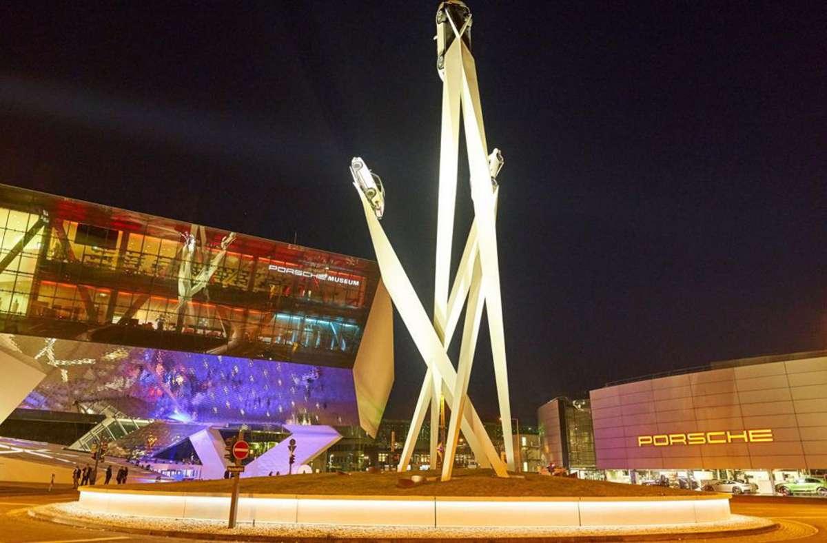 Die Lange Nacht der Museen hat unter anderem zum Porsche-Museum geführt. Foto: Lift
