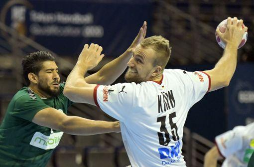 Deutsche Handballer lösen Ticket für Tokio