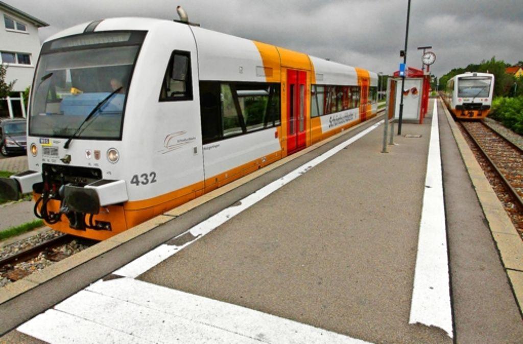 Die Strecke von Böblingen bis Dettenhausen soll elektrifiziert werden Foto: factum/Bach