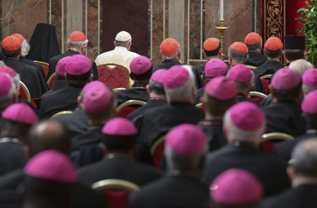 Das Gipfeltreffen der Katholischen Kirche zum Missbrauch in Rom hat so manchen Katholiken enttäuscht Foto: AFP