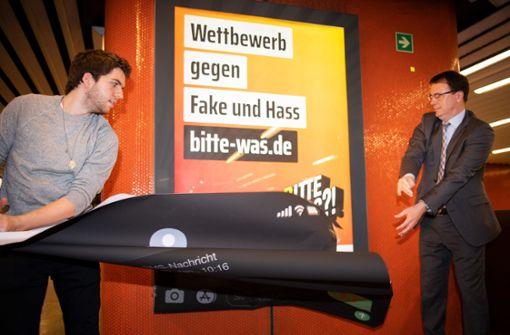 Auch in Stuttgart – Land bekämpft Hass im Internet mit Plakaten