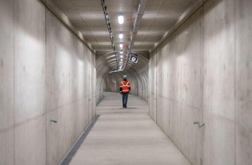 Arbeiten im Lämmerbuckeltunnel beendet