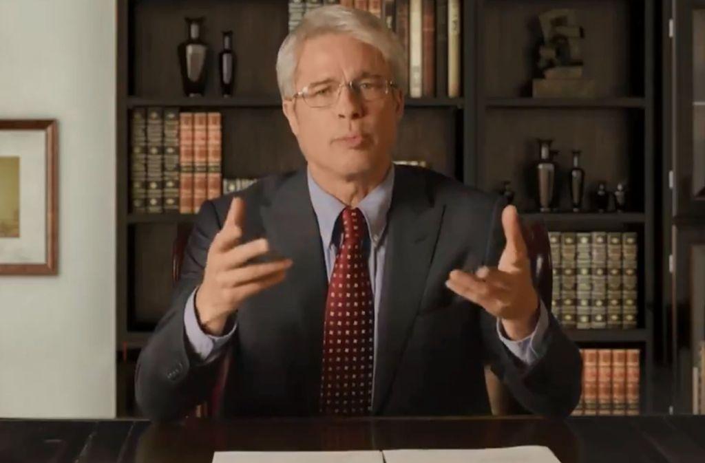 Brad Pitt ist in die Rolle von Anthony Fauci geschlüpft. Foto: SNL/Screenshot