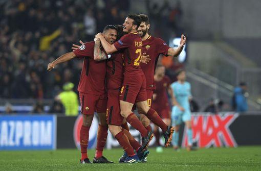 AS Rom schafft die Sensation gegen FC Barcelona