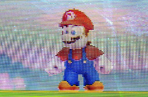 Super Mario für Opa und Oma