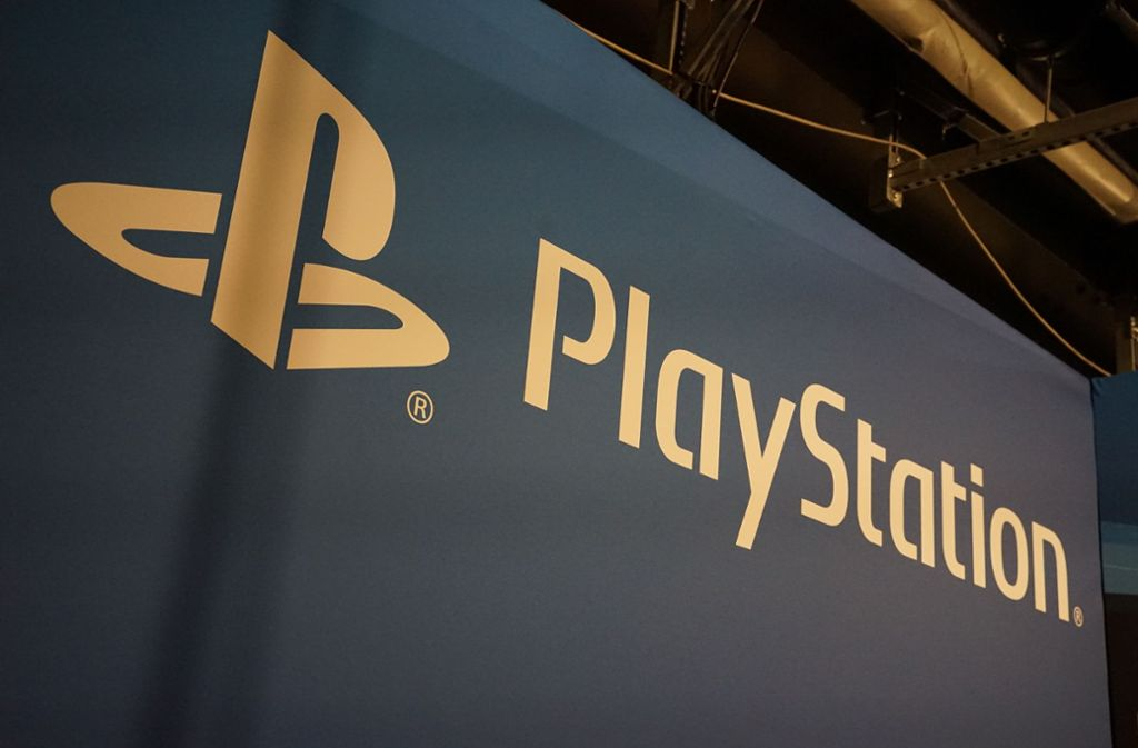 Das Playstation-Logo auf der EGX in Berlin. Foto: STPP/via www.imago-images.de