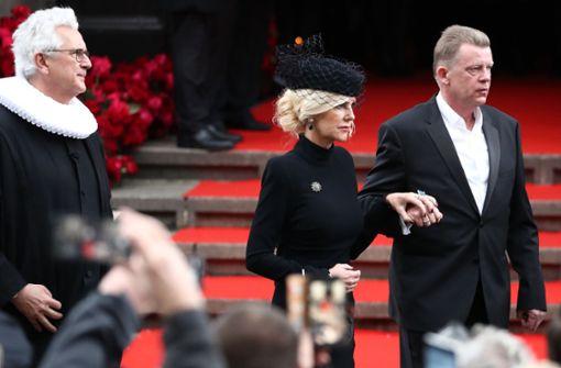 Jan Fedders Frau Marion nimmt mit bewegenden Worten Abschied