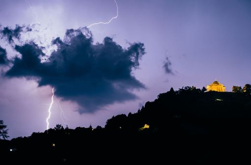 Deutscher Wetterdienst warnt vor starken Gewittern